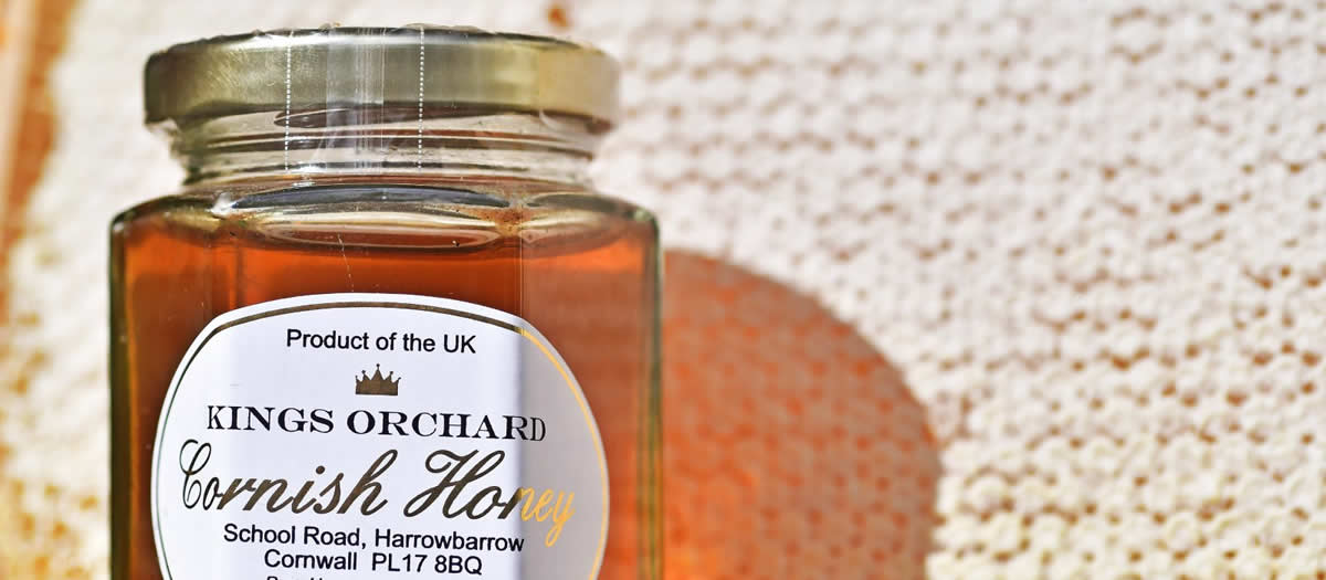 Kings Orchard Jar of Clear Honey
