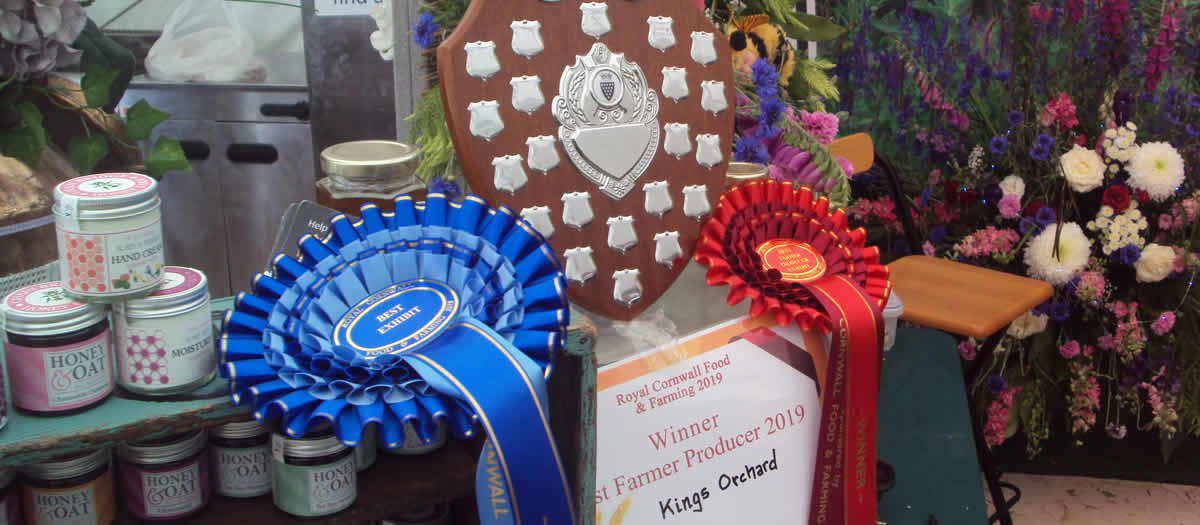 Kings Orchard Prize Winner Best Farmer Produce 2019